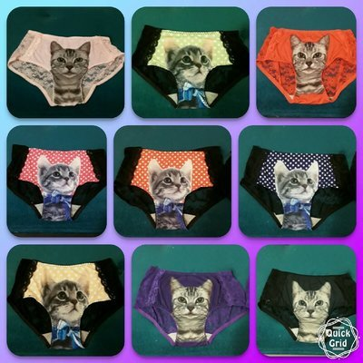 Lace Cat Panties