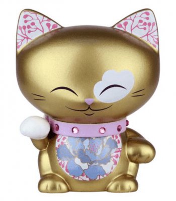 Mani the Lucky Cat Small Cat Charm