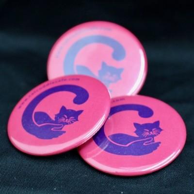 Cat Cuddle Café Badges