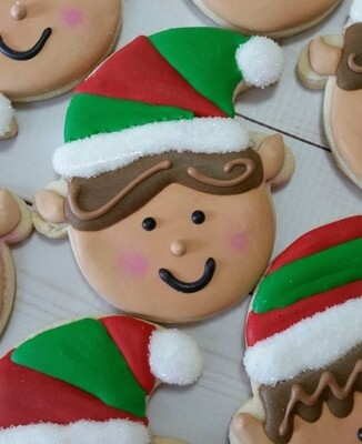 Christmas Elf  Sugar Cookies Signature Elf