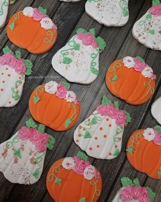 Pumpkin Patch Halloween Sugar Cookie