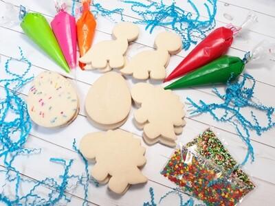 Dinosaur Cookie Decorating Kits