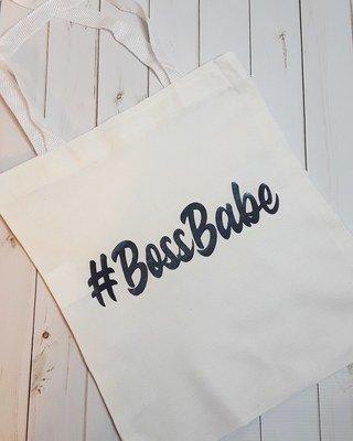 #BossBabe - Canvas Tote Bag