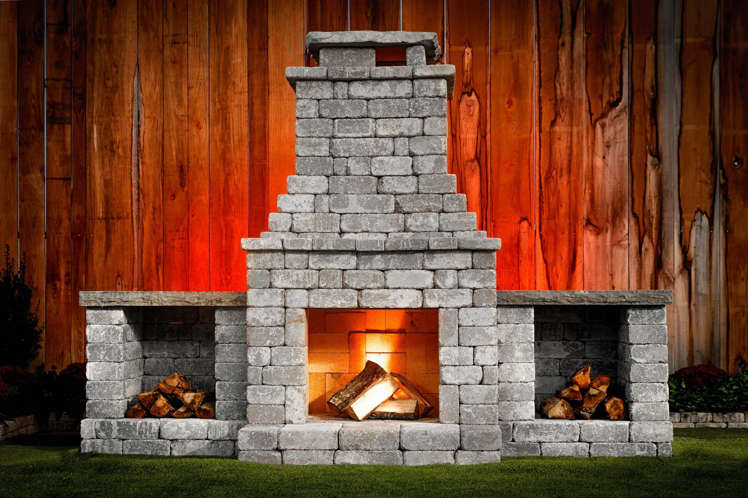 Fremont DIY Outdoor Fireplace Kit FPO5228