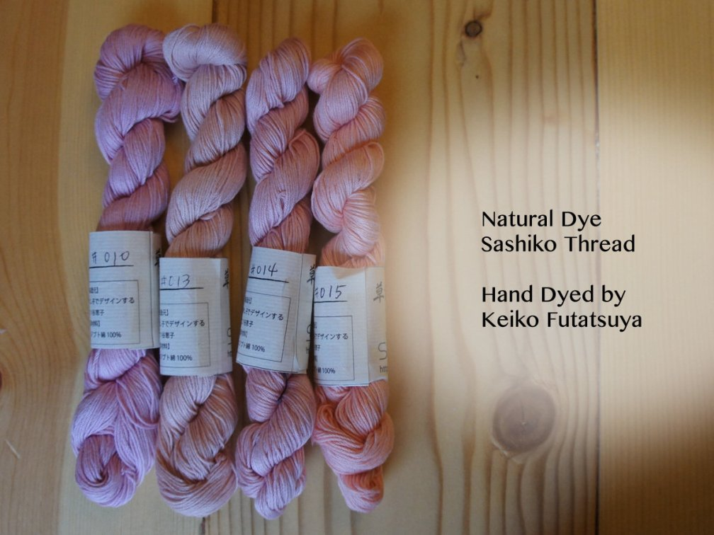 Natural Dyed Sashiko Thread ND_Thread_145
