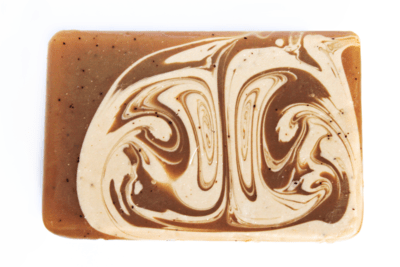 COFFEE N' CREAM triple coffee infused soap