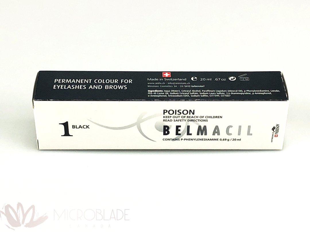 Belmacil Eyelash & Brows Tint - #1 Black MBCBEBT1