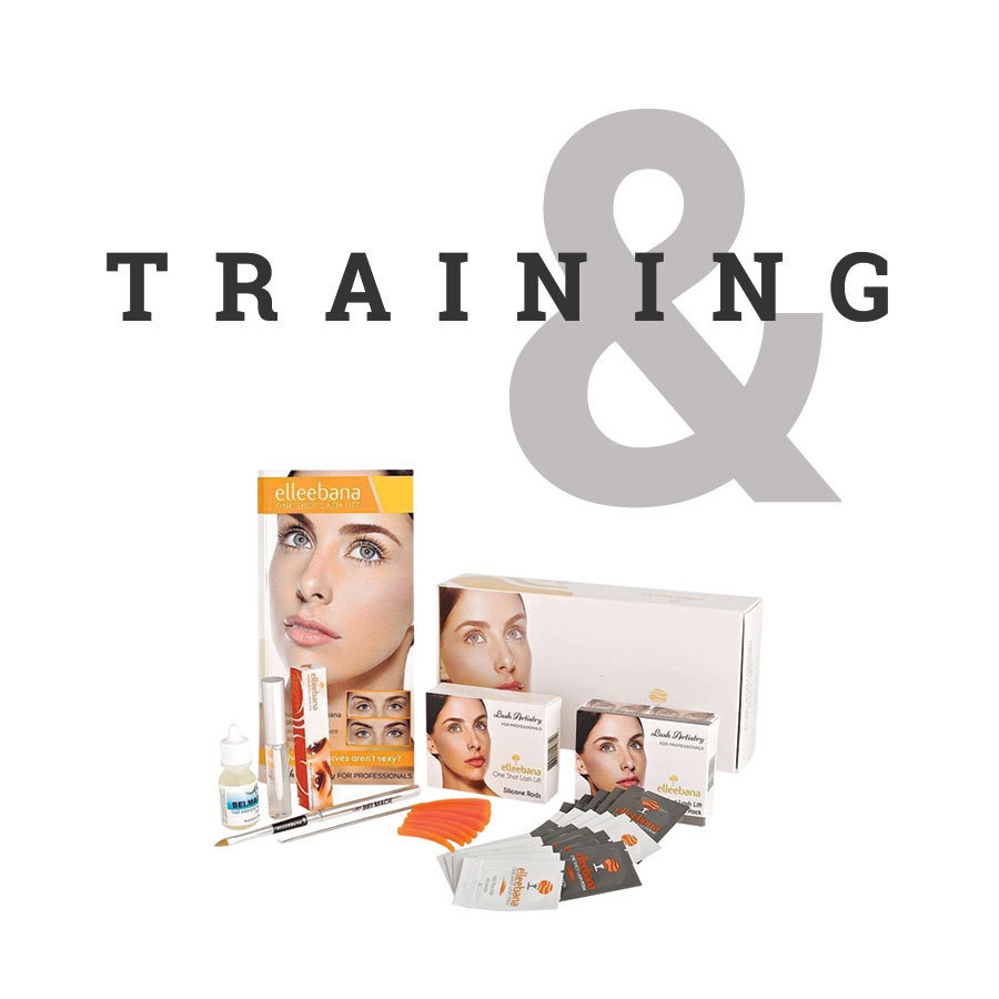 Online REFRESHER ELLEEBANA Lash Lift Training With Kit & Certification MBCELLT-K