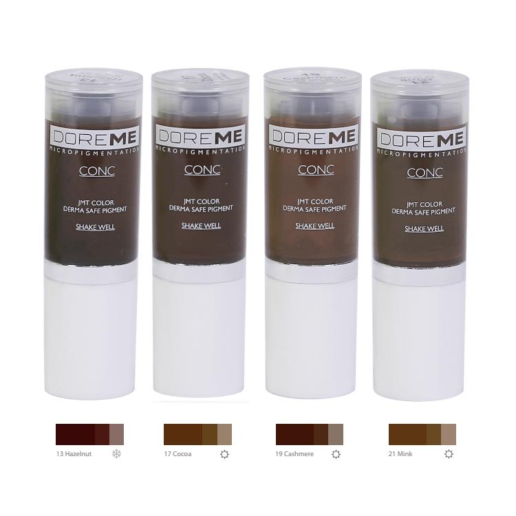 Doreme Pigments - Medium Brown Set MBCDPMEDBRW