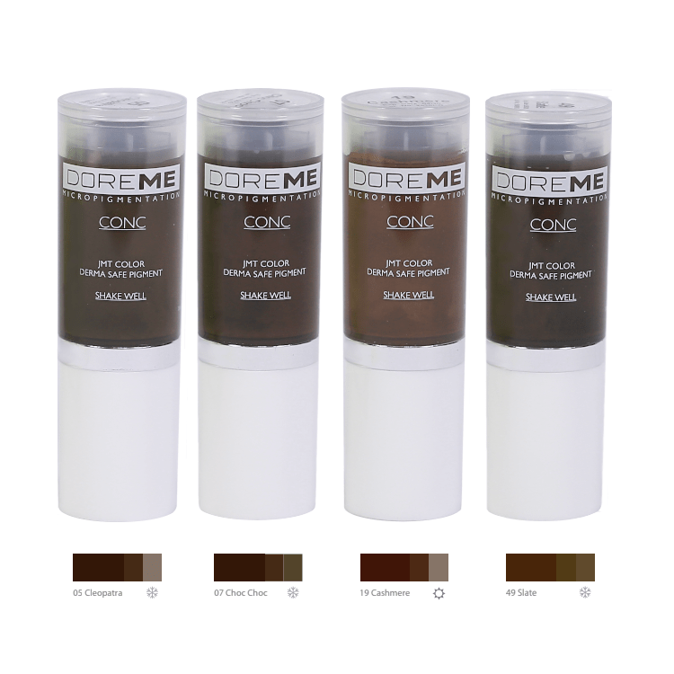 Doreme Pigments - Dark Brown Set MBCDPDARKSET1