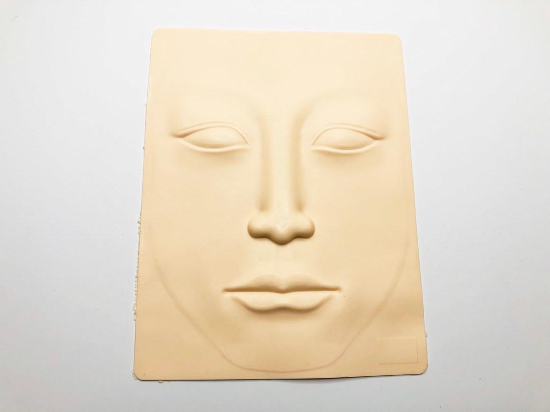3D Full Face Microblading Practice Skin MBC3DFPS03