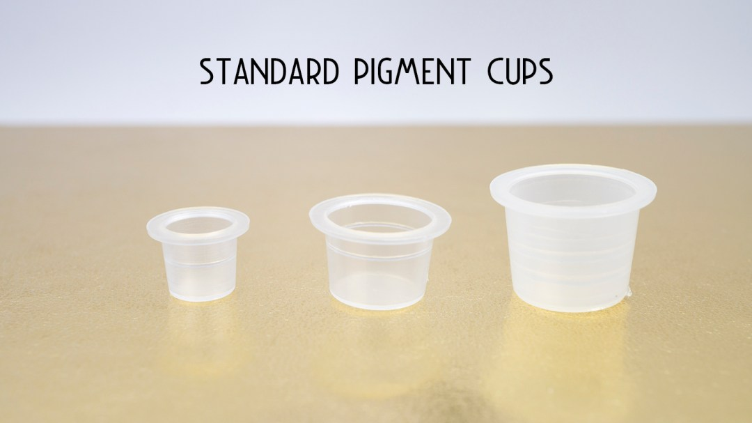 Standard Pigment Cups MBCPMUPCS01