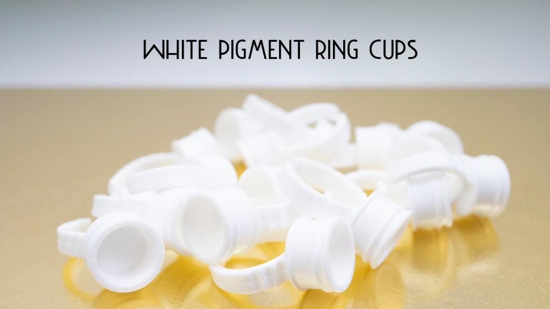 White Pigment Ring Cups MBC005PRC500001