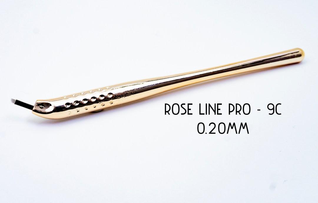 Rose Line Pro - 9C Disposable Microblade Pen MBCRLP9C