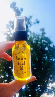 Dandelion Herbal Oil (Limited Batch!)