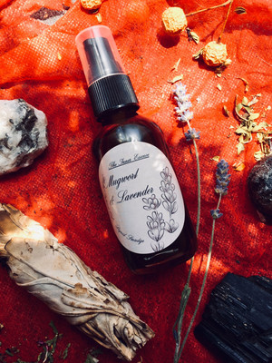 Mugwort & Lavender Oil | Smudge