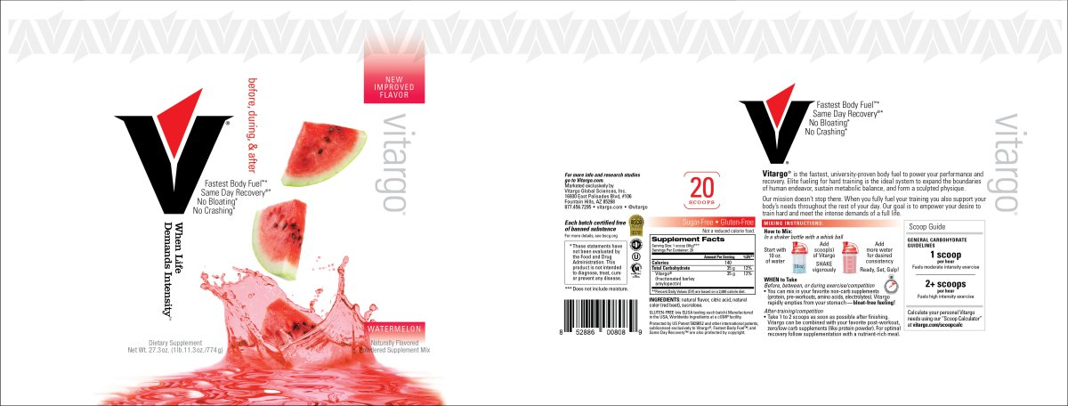 Watermelon 20 Scoop Label