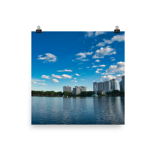 City Views Photo paper poster