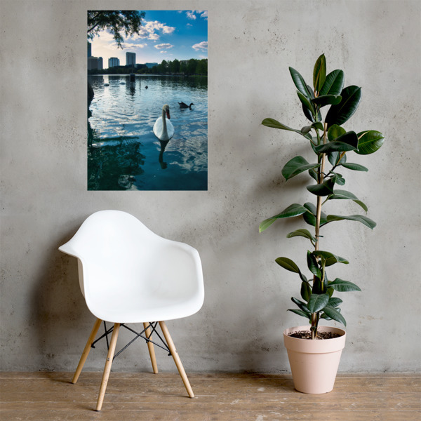 Lake Side Photo paper poster 00010