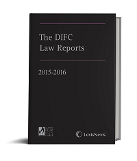 The DIFC Law Reports - 2015/2016 (ISBN9781474305082)