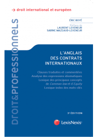 L'anglais des contrats internationaux (EAN9782711012619)