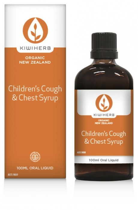 KiwiHerb Children's Cough & Chest Syrup  100mL 00124