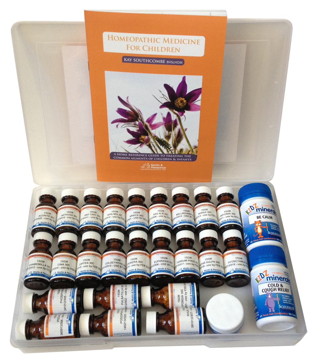 Homeopathic Remedy Kit For Children 00181