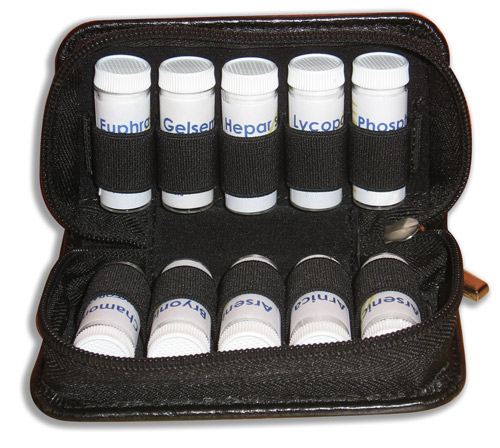 Travel Remedy Bag - Black - Small 00035