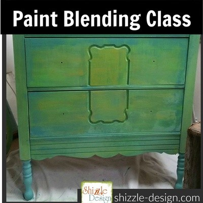 July 28th Shizzle Style Color Blending BYO Furniture    Workshop (Sunday 1-5)