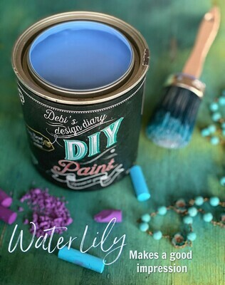 Water Lily NEW DIY Paint Color at Shizzle Design