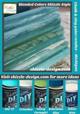 Advanced Layering Blending DIY Chalk & Clay Paint Class