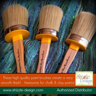 Oval Paint Brushes by Vintiquities