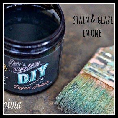 Dark & Decrepit Liquid Patina by DIY