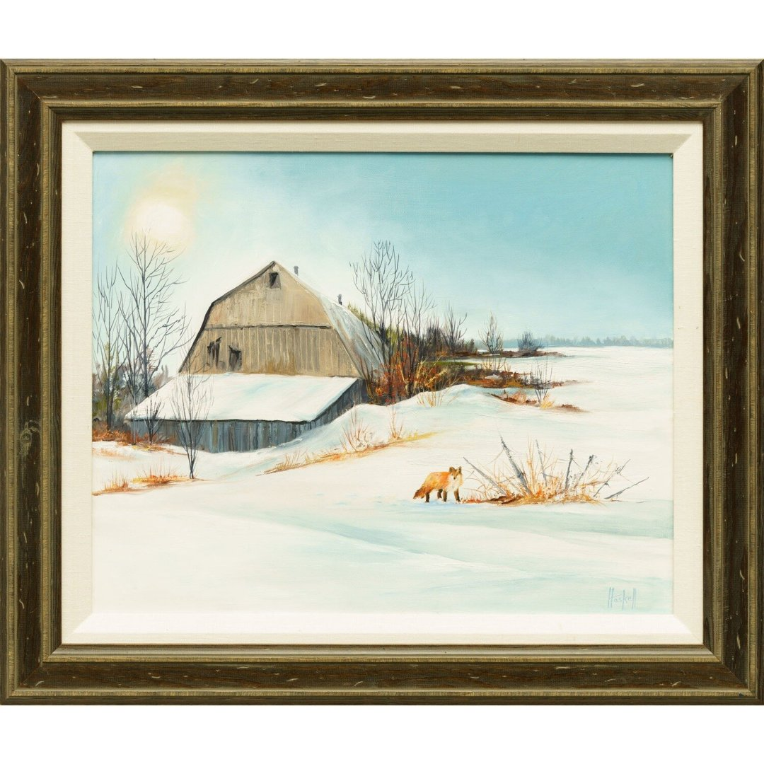 Lois Haskell -- Old Snohomish Barn