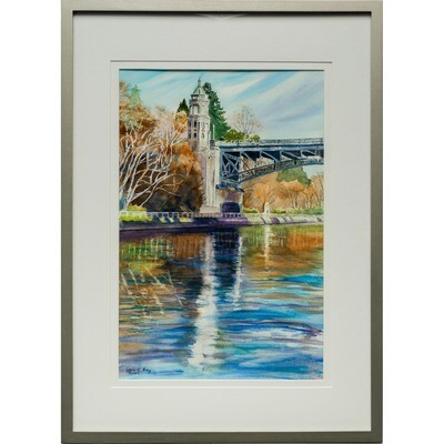 Joan Frey -- Montlake Bridge