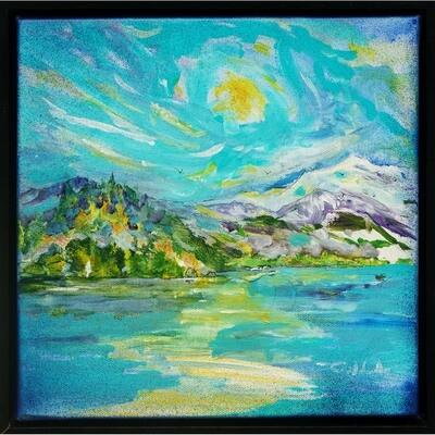 Forrest Goldade -- Sunrise Fishing Lake Whatcom