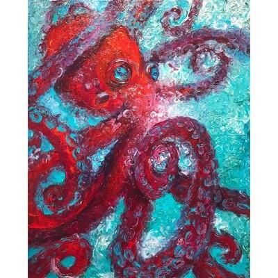 Heidi Barnett -- Red Octopus