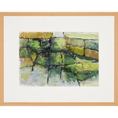Jerry Baldwin -- Garden Wall
