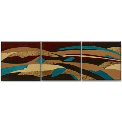Marne Jensen -- Painted Desert Triptych