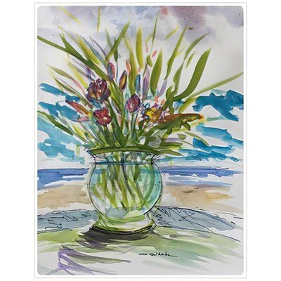 Forrest Goldade -- Bowl of Tulips