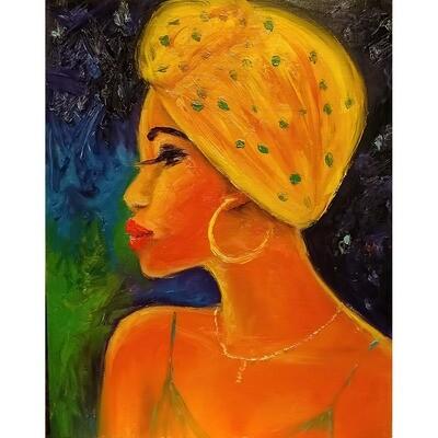 Leanna Leitzke -- yellow Scarf-II