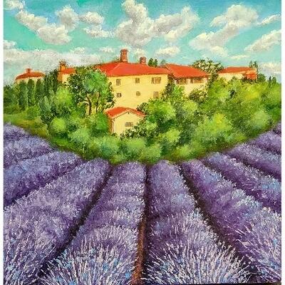 Leanna Leitzke -- Tuscany Lavender