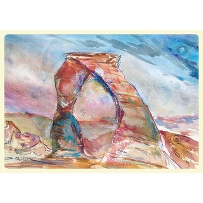 Forrest Goldade -- Petroglyphs Under Southern Skys