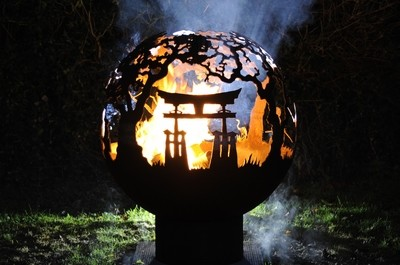 900mm Japan Theme Firepit