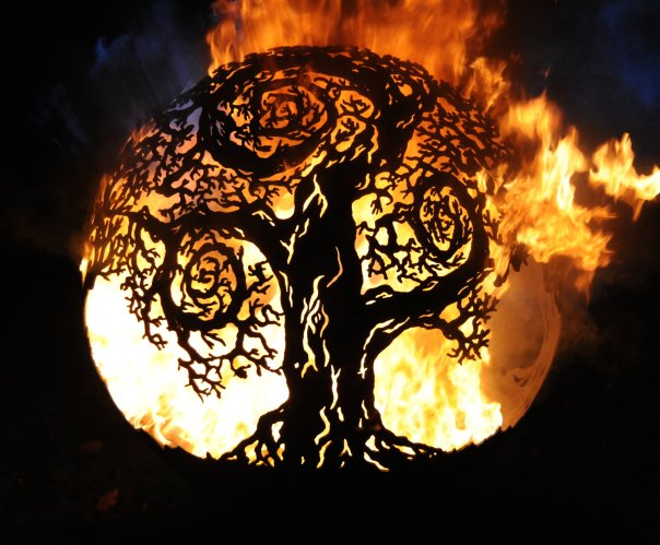 900mm Twisted Tree Firepit 900TwistedOL