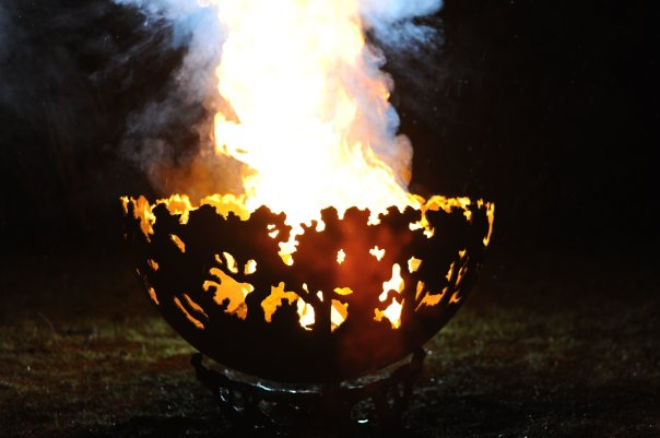 900mm Forest Themed Firepit Bowl 900forestBowlOL