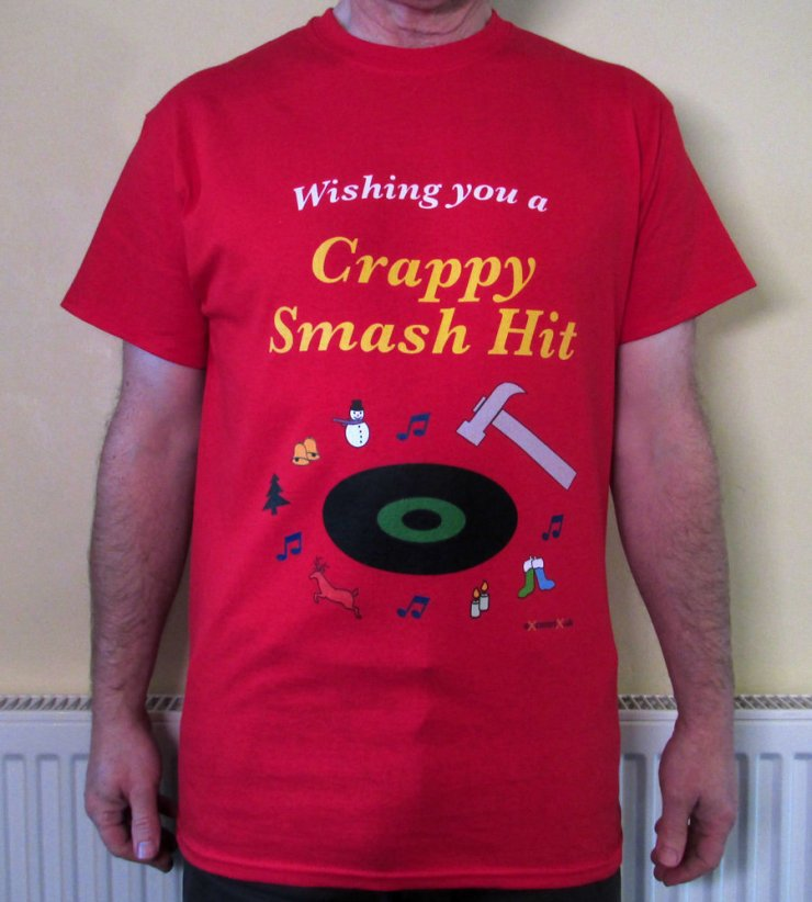eXcentriX - Wishing You a Crappy Smash Hit T-shirt