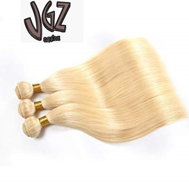 100g Brazilian Virgin Human Hair Blonde Straight