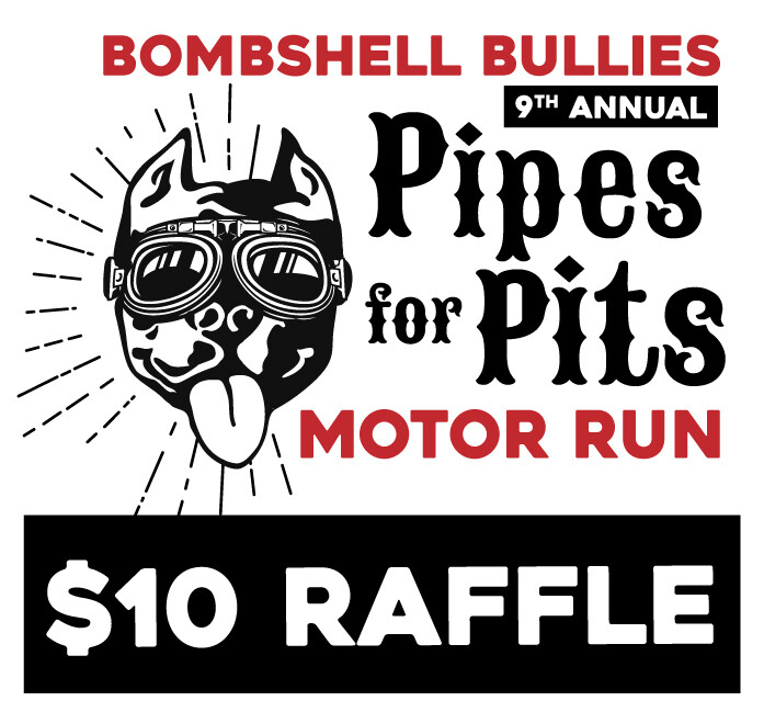 Pipes for Pits Motor Run Raffle Ticket