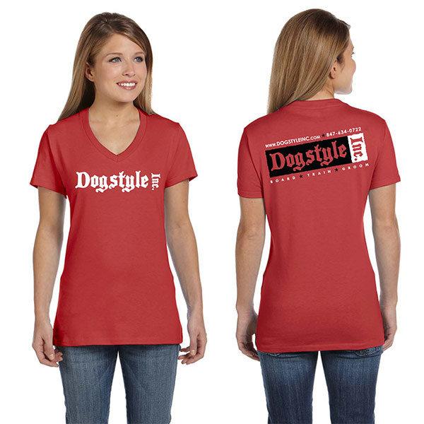 Dogstyle Inc V-Neck Shirt